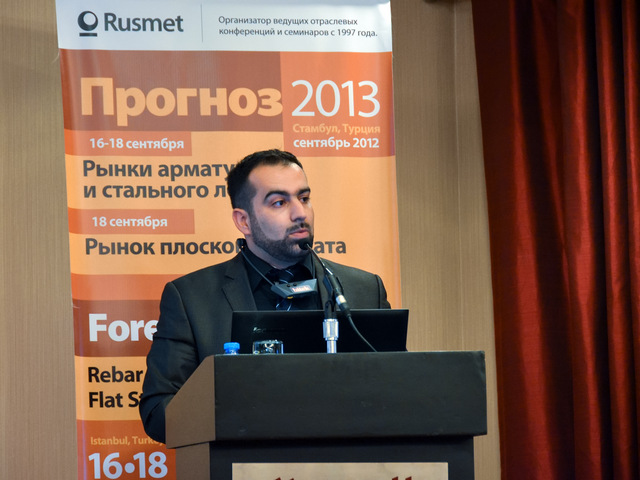 Rusmet Conference / Forecast-2013: Rebar and Scrap Metals Markets